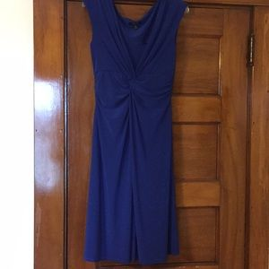 Chaps brand woman's medium blue dress Easter
